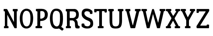 Lumberjack Font UPPERCASE