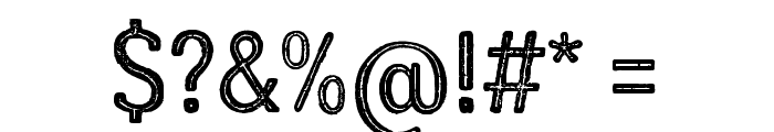 LumberjackInlineRough Font OTHER CHARS