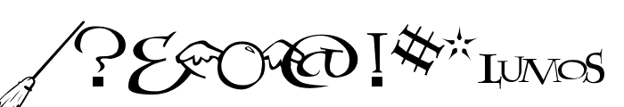 Lumos Font OTHER CHARS