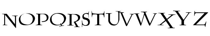 Lumos Font UPPERCASE