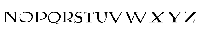 Lumos Font LOWERCASE
