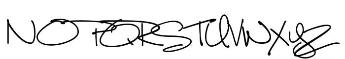 Luna Bar Font UPPERCASE