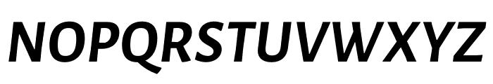 Luna Bold Italic Font UPPERCASE