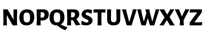 Luna Extra Bold Regular Font UPPERCASE