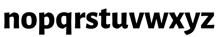 Luna Extra Bold Regular Font LOWERCASE