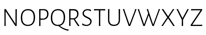 Luna Light Regular Font UPPERCASE