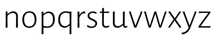 Luna Light Regular Font LOWERCASE