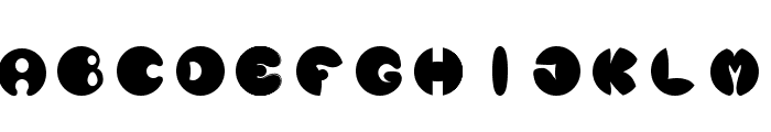 Luna Nueva Font UPPERCASE