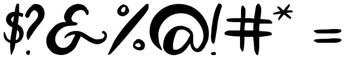 Luna Font OTHER CHARS