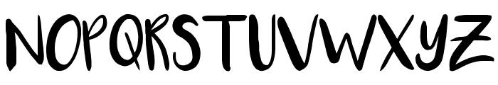 Luna Font UPPERCASE