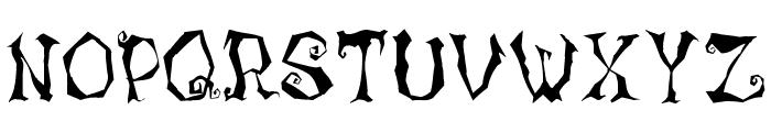 LunacyMore Font UPPERCASE