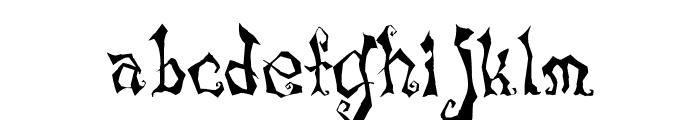 LunacyMore Font LOWERCASE
