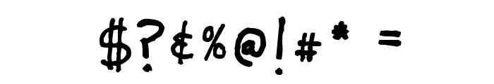 Lunatic Font OTHER CHARS
