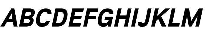 Lunchtype21 Bold Italic Font UPPERCASE