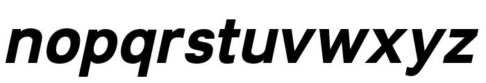 Lunchtype21 Bold Italic Font LOWERCASE