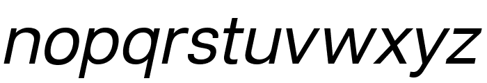 Lunchtype21 Italic Font LOWERCASE