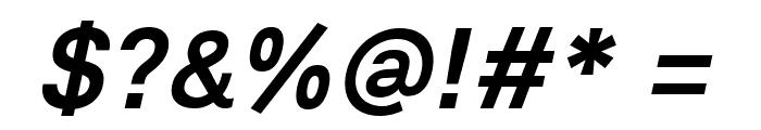 Lunchtype21 Medium Italic Font OTHER CHARS