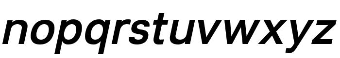 Lunchtype21 Medium Italic Font LOWERCASE