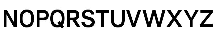Lunchtype21 Medium Font UPPERCASE