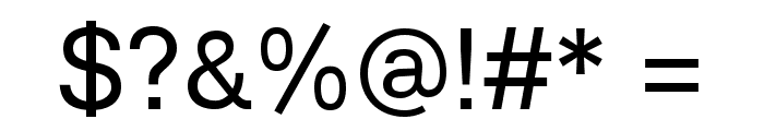Lunchtype21 Font OTHER CHARS