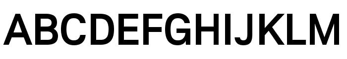 Lunchtype22 Medium Font UPPERCASE