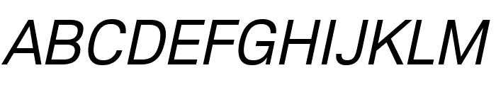 Lunchtype23 Italic Font UPPERCASE