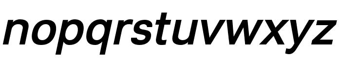Lunchtype23 Medium Italic Font LOWERCASE