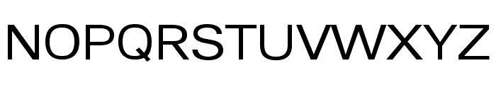 Lunchtype24 Expanded Regular Font UPPERCASE