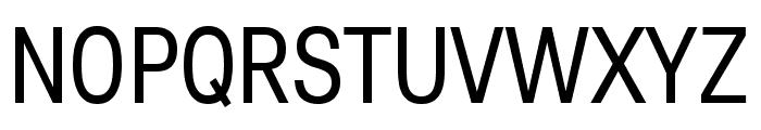 Lunchtype25 Condensed Regular Font UPPERCASE
