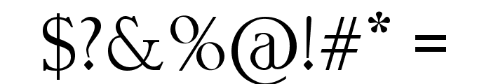 Lund Font OTHER CHARS