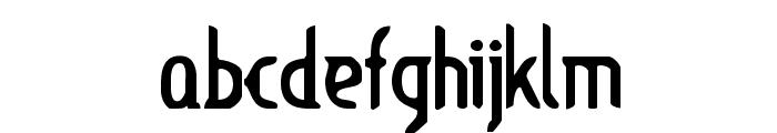 Lupinus Font LOWERCASE