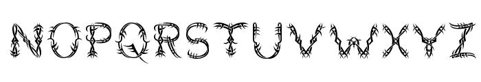 Lupus Blight Font UPPERCASE