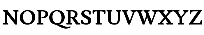 Lusitana Bold Font UPPERCASE
