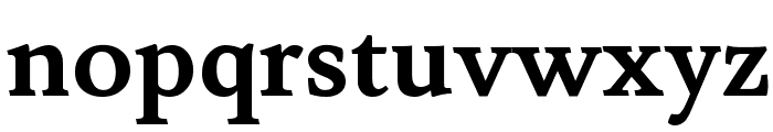 Lusitana Bold Font LOWERCASE