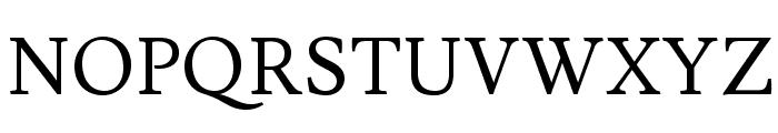 Lusitana Font UPPERCASE