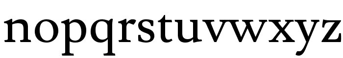 Lusitana Font LOWERCASE
