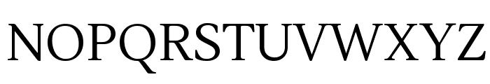 Lustria Font UPPERCASE