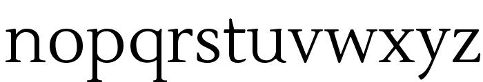Lustria Font LOWERCASE