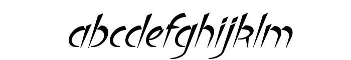 Luteous Aublikus Font LOWERCASE