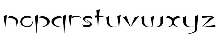 Luteous Exodus Font LOWERCASE