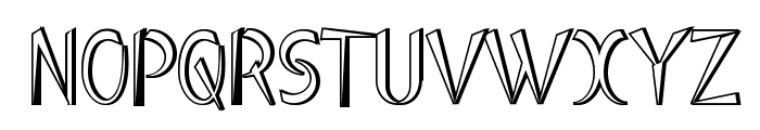 Luteous Industrious Font UPPERCASE