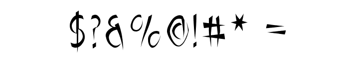 Luteous Maximus Font OTHER CHARS