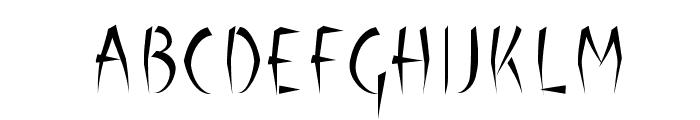 Luteous Maximus Font UPPERCASE