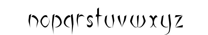 Luteous Maximus Font LOWERCASE