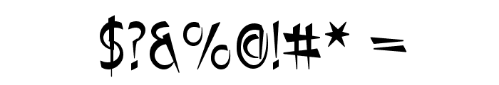 Luteous Viscous Font OTHER CHARS