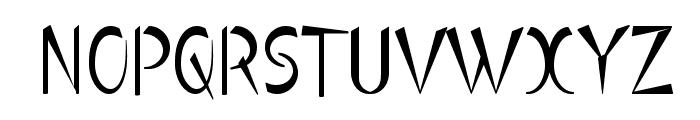 Luteous Viscous Font UPPERCASE