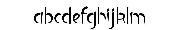 Luteous Viscous Font LOWERCASE