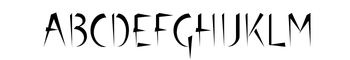Luteous Font UPPERCASE
