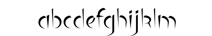 Luteous Font LOWERCASE