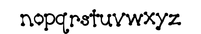 Luv Country Art Font LOWERCASE
